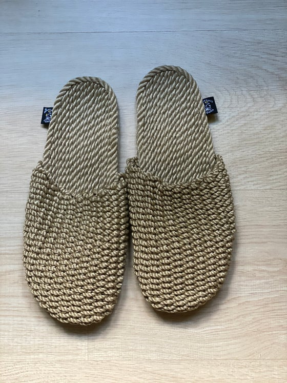 Image of Slippers camel