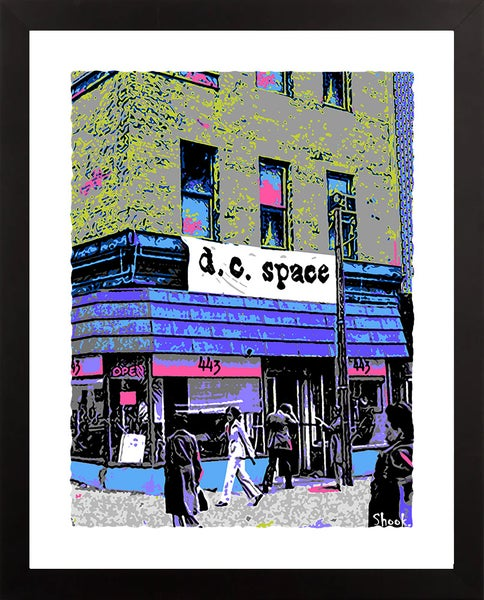 "Image of DC Space ""Lunchtime"" Giclée Art Print - 11""x14"""