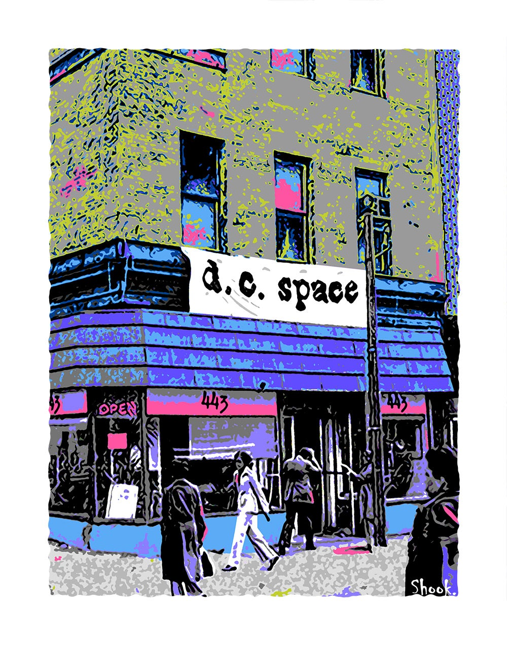 """DC Space """"Lunchtime"""" Giclée Art Print - 11""""x14"""""""