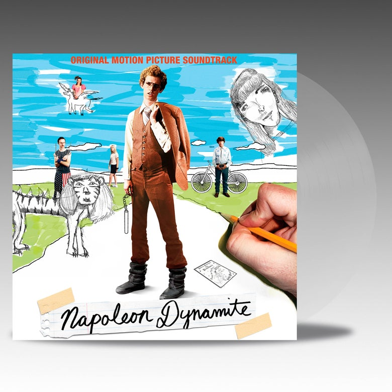 Image of Napoleon Dynamite (Original Motion Picture Soundtrack) - 'Crystal Clear' Vinyl - Various