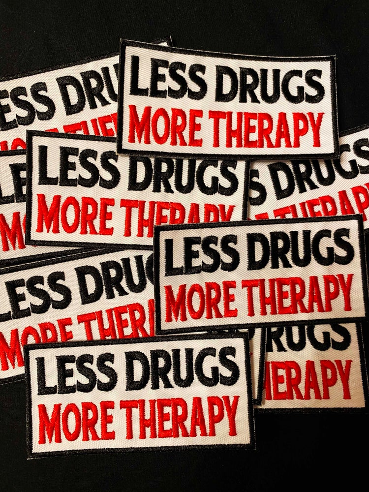 Image of LES DRUGS MORE THERAPY patch + sticker