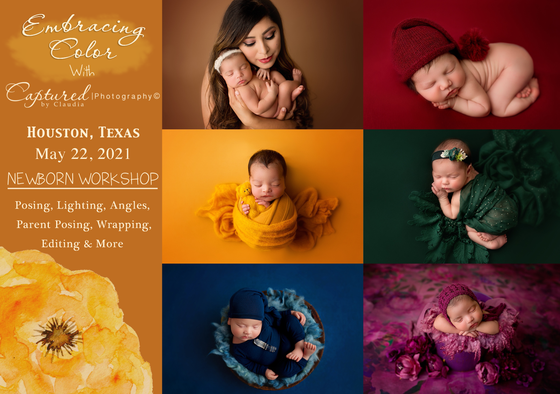 Image of Houston, Texas Newborn Posing workshop- May 22, 2021