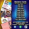 Business Cards (Standard Delivery NO Rush)