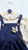Robe Olivia bleu marine - Navy blue Olivia dress