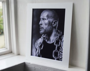 Dwayne 'The Rock' Johnson (Limited edition print)