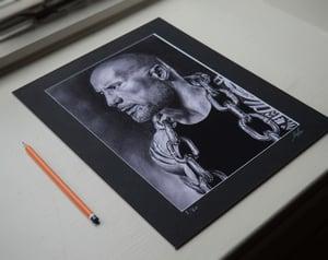 Dwayne 'The Rock' Johnson (Limited edition print) On Sale!!