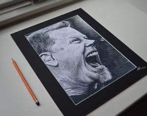 James Hetfield (Limited edition print)