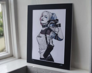 Harley Quinn (Limited edition print)