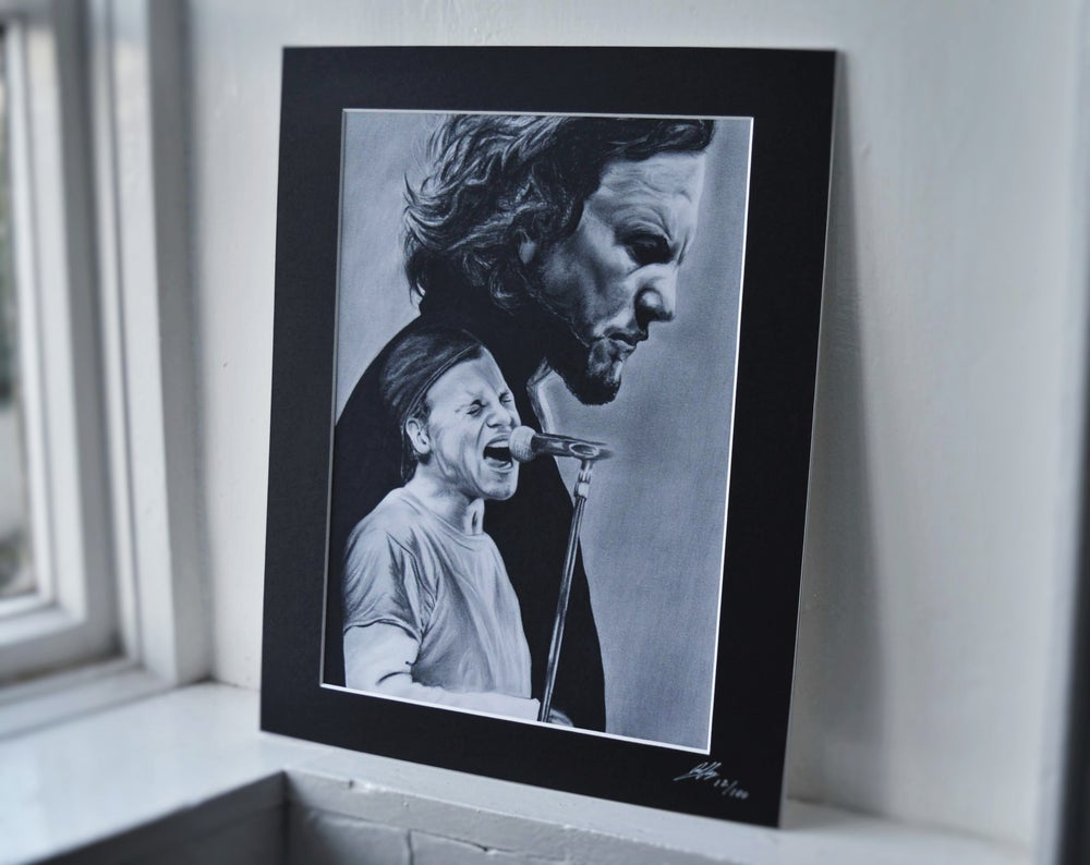 Eddie Vedder (Limited edition print)