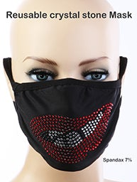 Image of RED LIPSTICK MASK