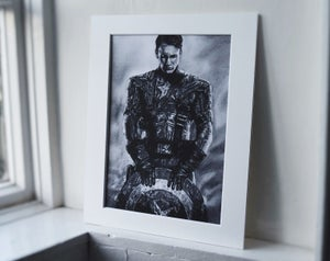 Captain America (Limited edition print)