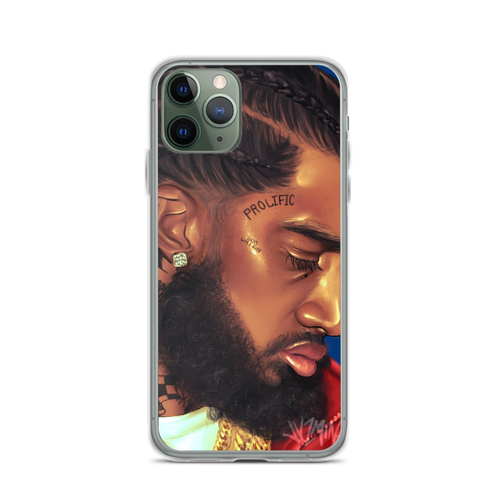 "Image of ""Nipsey Hussle"" Phone Case"