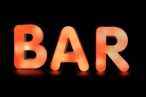 Image of BAR Neon Sign