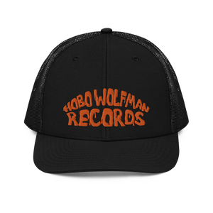 Image of Hobo Wolfman Logo Embroidered Trucker Cap