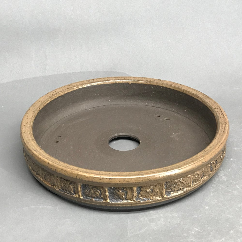 Image of 300 Shallow Round in Dark Brown w/Bronze Patina