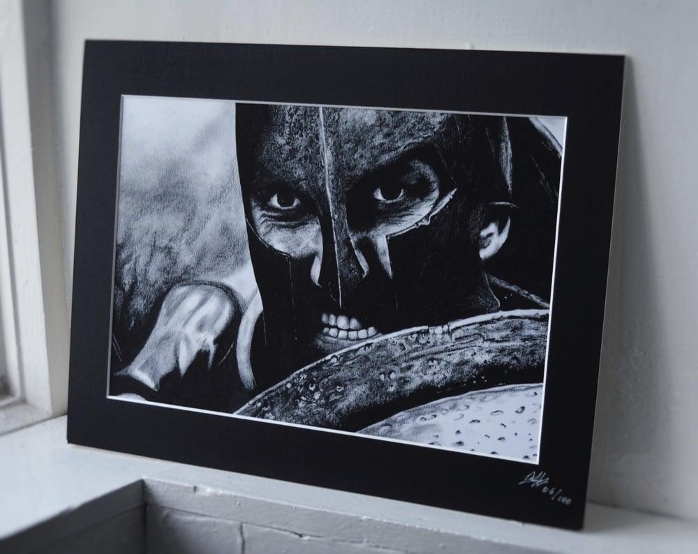 King Leonidas (Limited edition print)