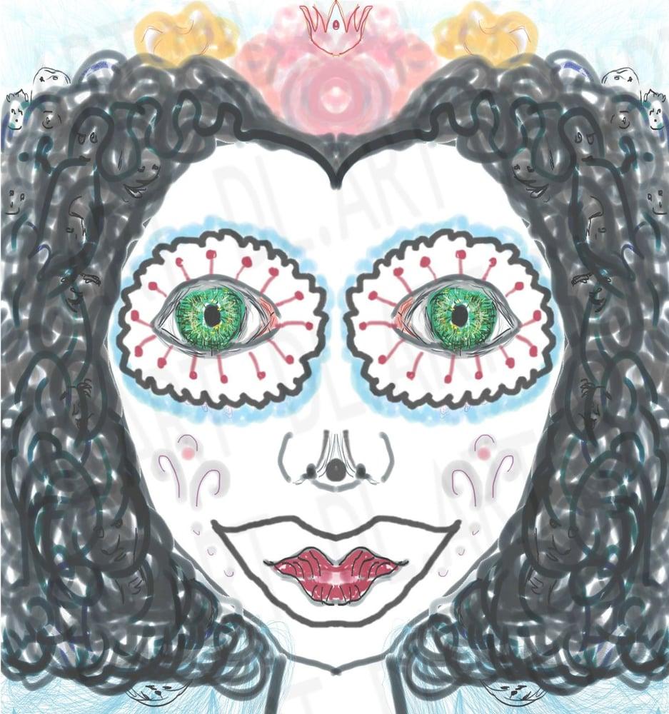 Image of Dia de los Muertos 2020 Digital Art Print