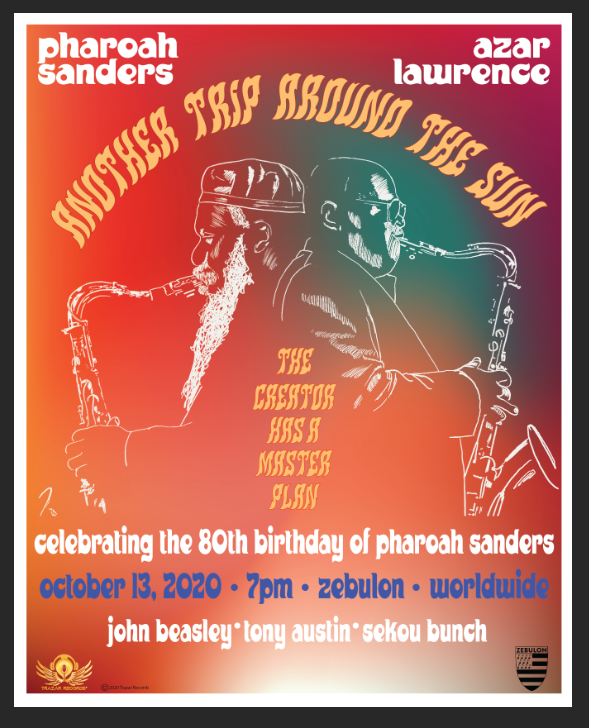 Pharoah Sanders and Azar Lawrence Poster