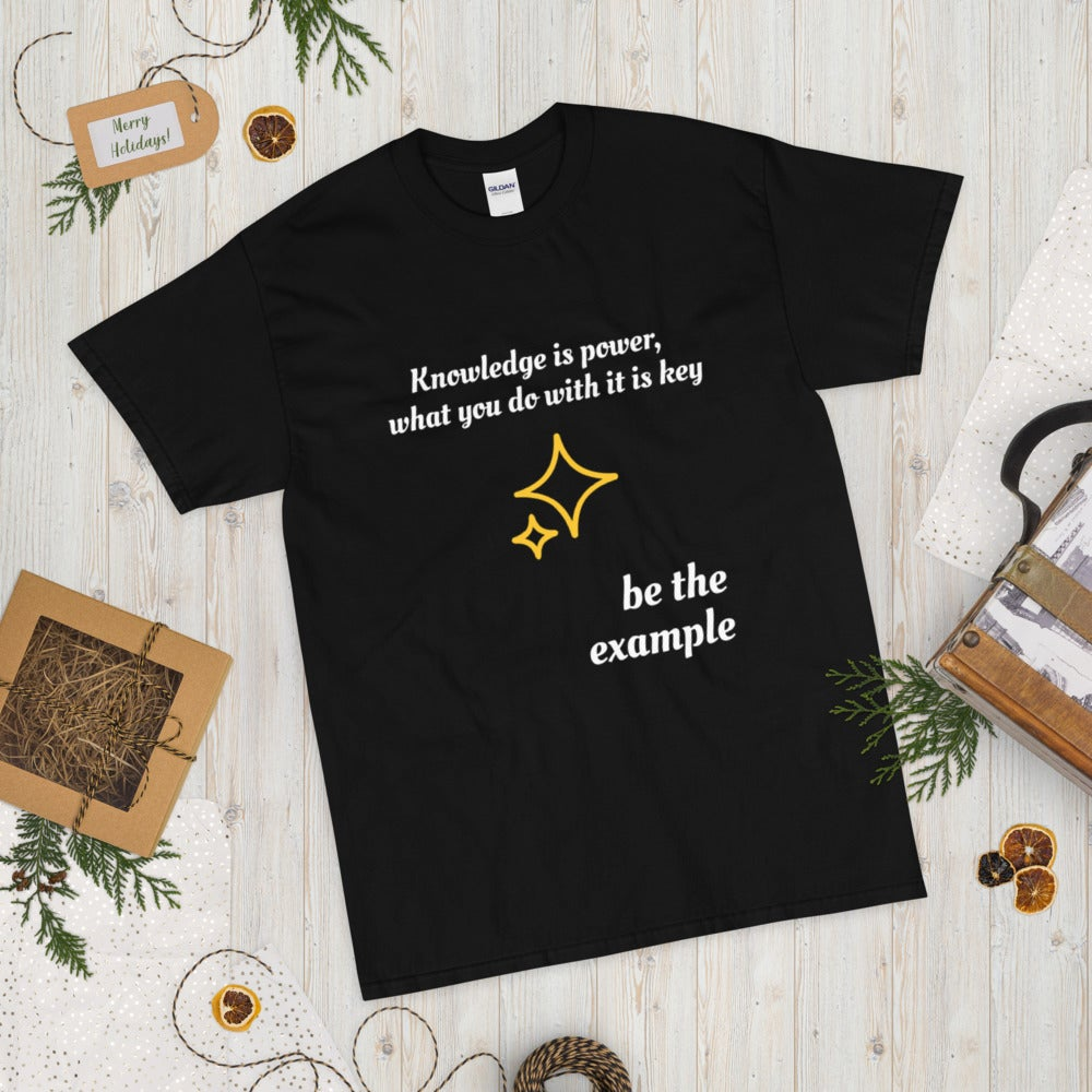 Image of Knowledge is Power Short Sleeve T-Shirt