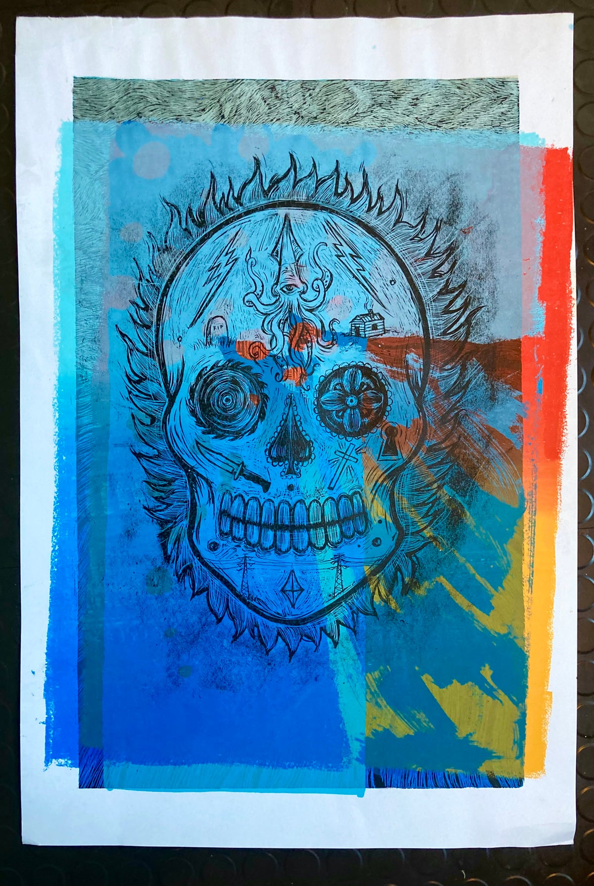 Day Of The Dead Test Print #14
