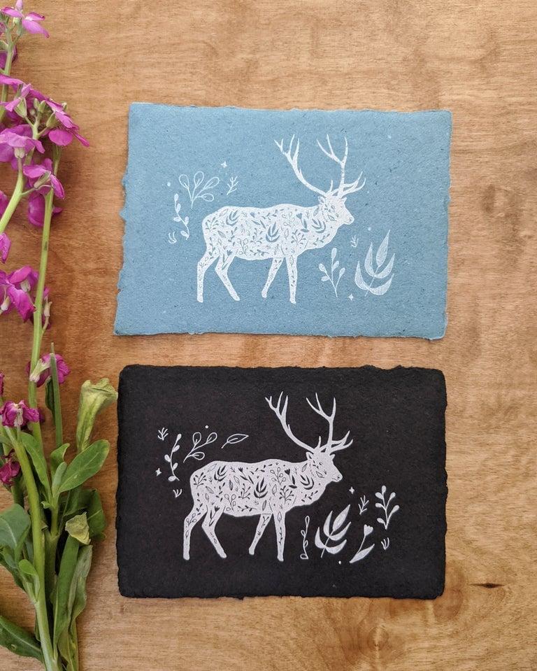 Image of Elk Print - Various colors