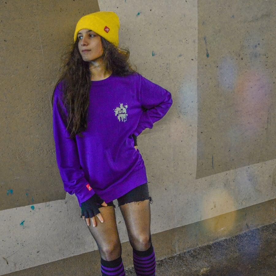 Image of Organic Purple Crew