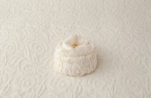 Image of Rea Lace Backdrop - cream