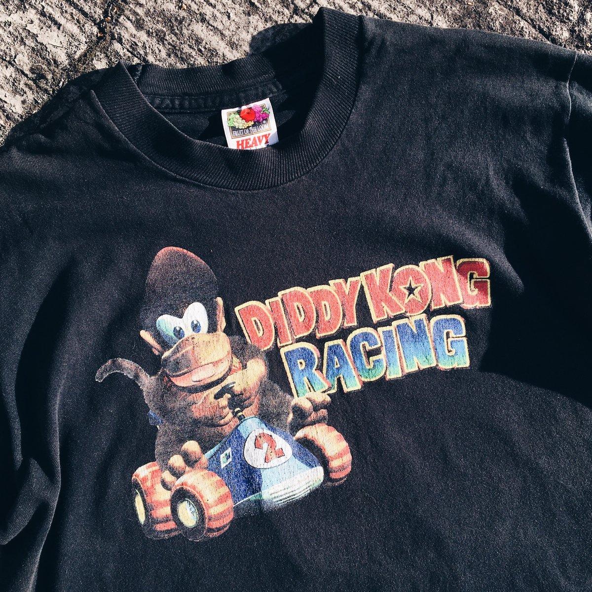 Image of Original 90's Diddy Kong Racing Promo Video Game Tee.