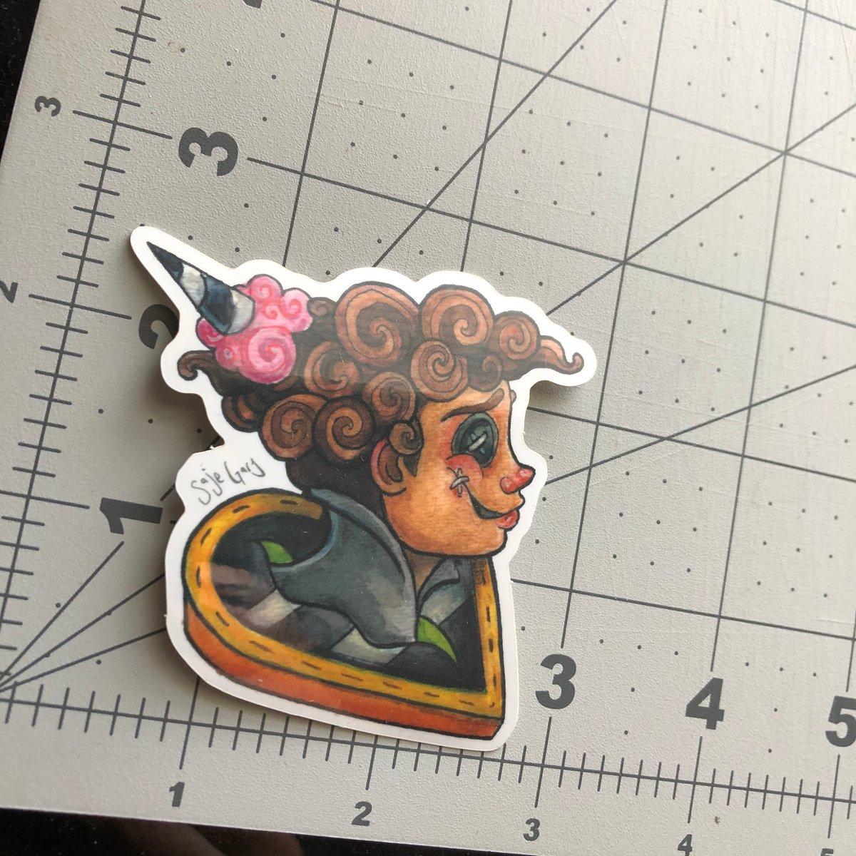 Image of Wybie sticker