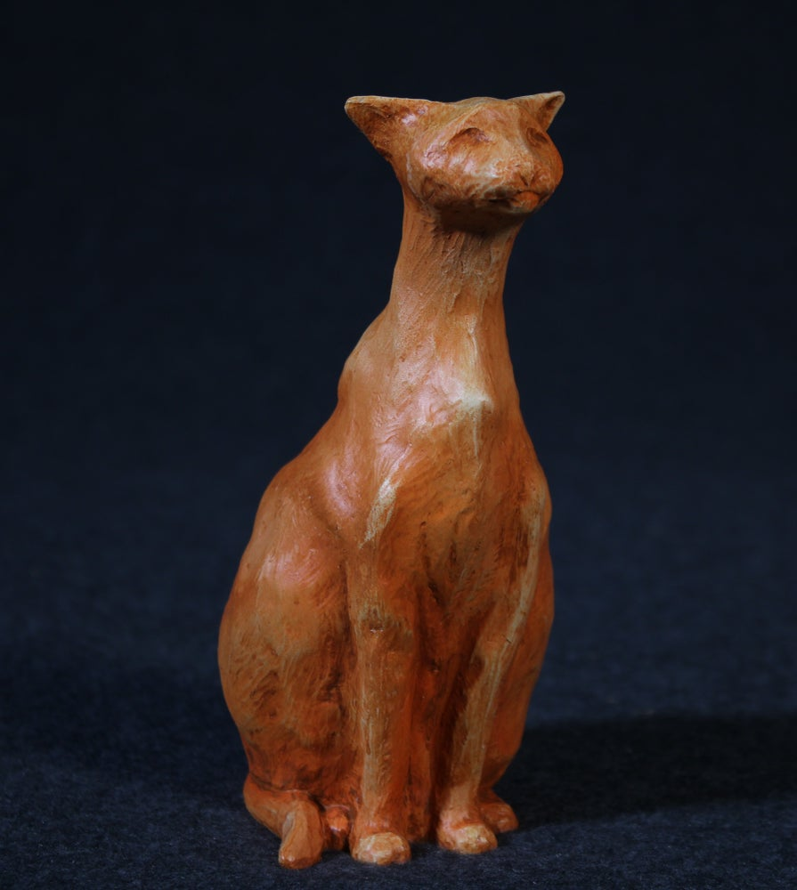 Image of Cat - Earth tone (resin)