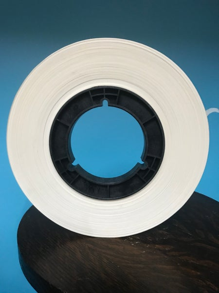 "Image of Burlington Recording 1/2"" x 1000' Paper Leader Tape On Hub/ Bulk"