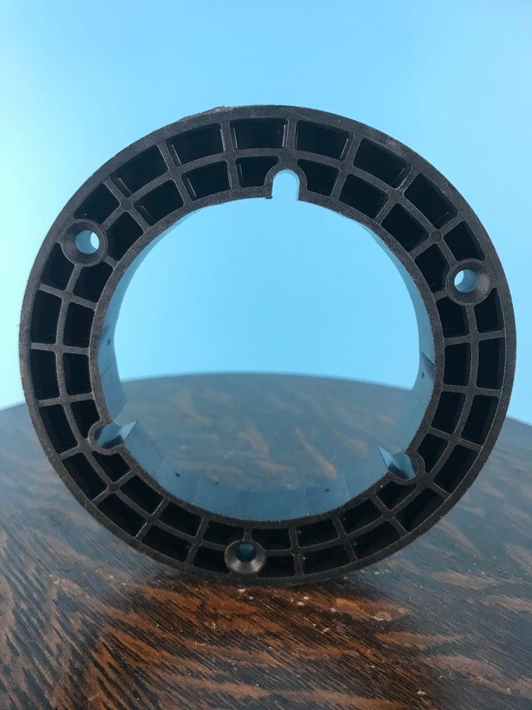 """Image of Burlington Recording 1/2"""" NAB Hubs for 1/2"""" Metal Reels Black"""