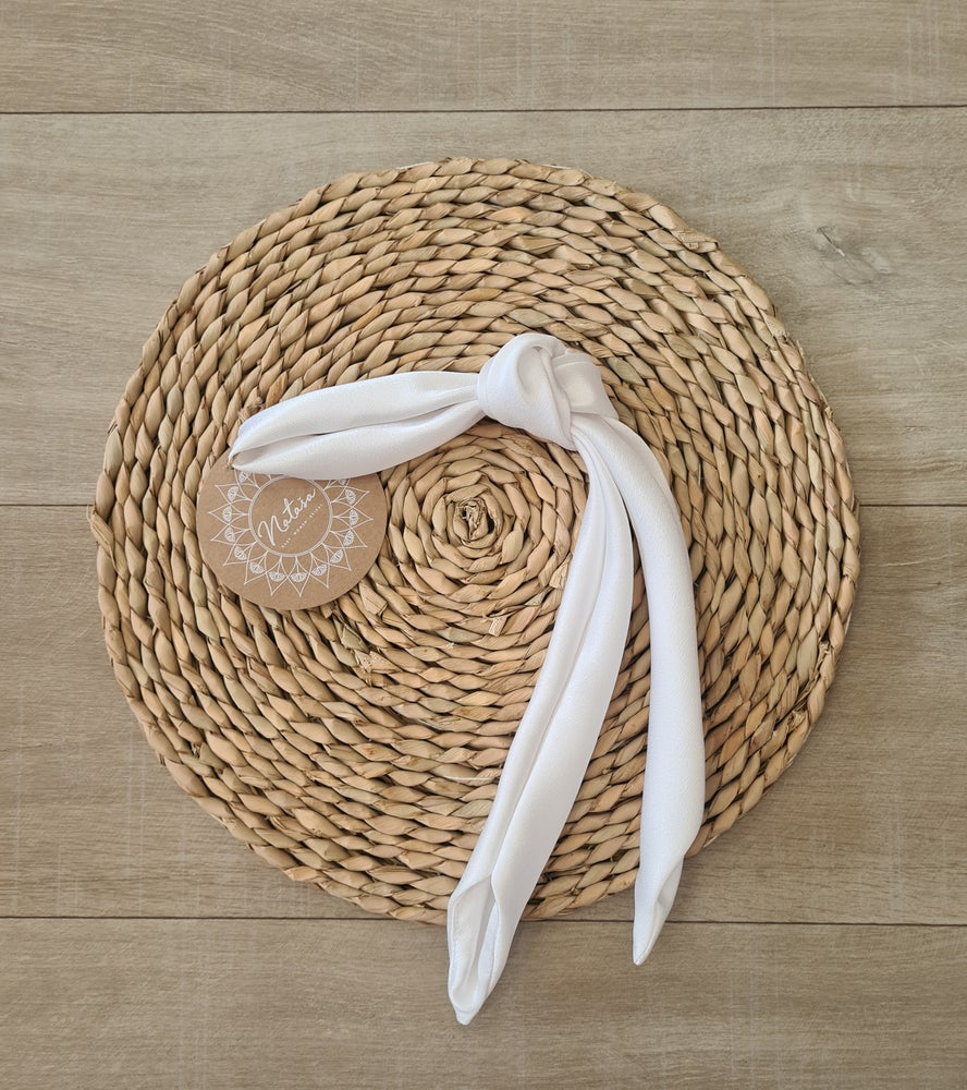 Image of Boho hair accessories. Satin Hair sash/wrap.