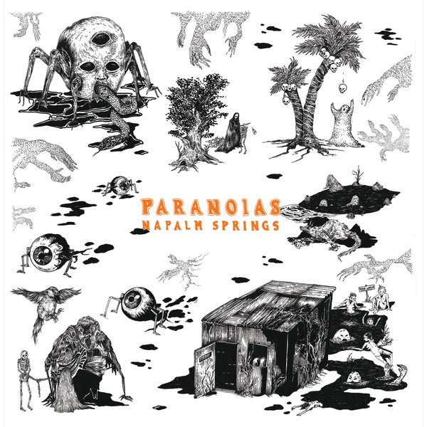 Image of PARANOIAS - Napalm Springs 7""