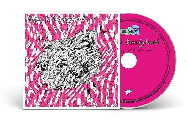 """Image of HOGZ IN DANDYLAND """"IS IT OKAY IF I MISS YOU?"""" CD"""