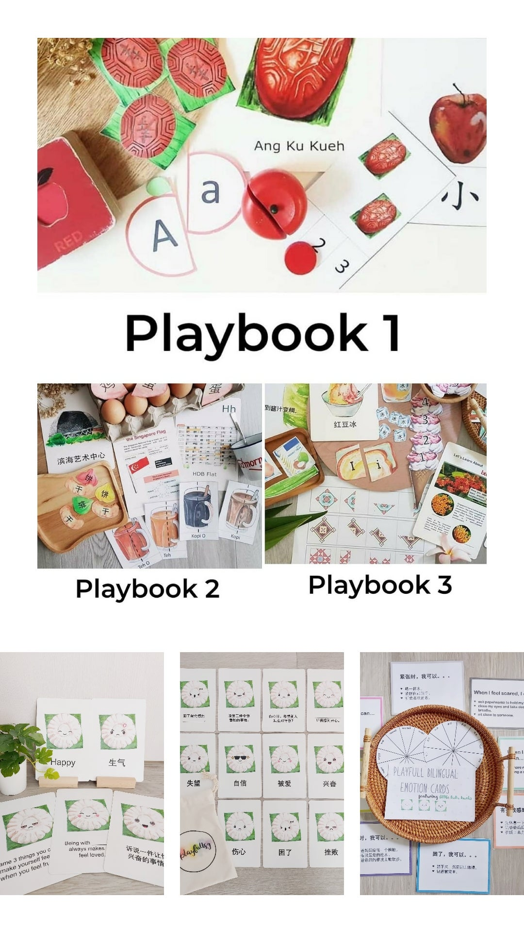 Image of Playfull Schoolhouse Playbooks 1 to 6 + Emotion Cards and Printables Bundle