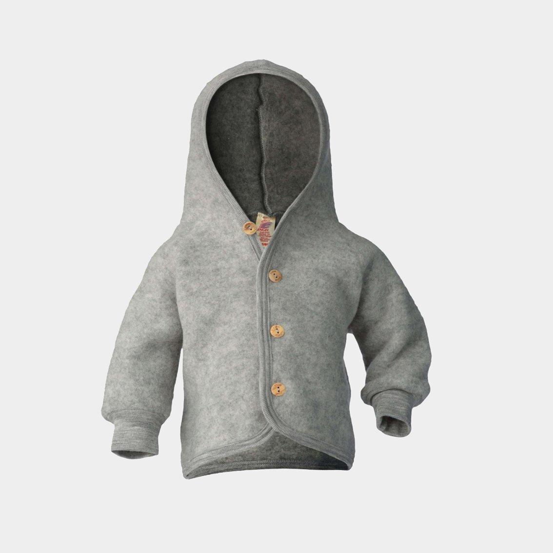 Image of Engel Hooded Jacket Gray