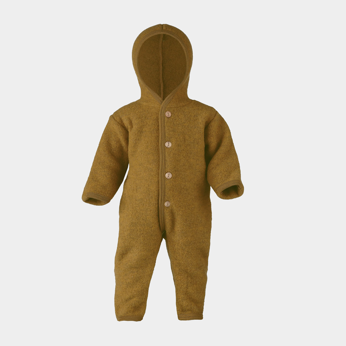 Image of Engel Hooded Overall Saffron