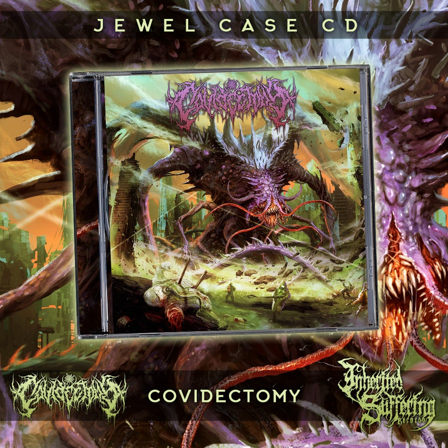 Image of Covidectomy - Covidectomy - Jewel Case CD