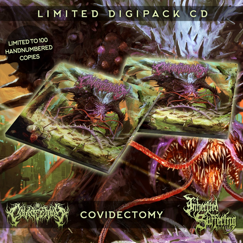 Image of Covidectomy - Covidectomy - Limited Digipack CD