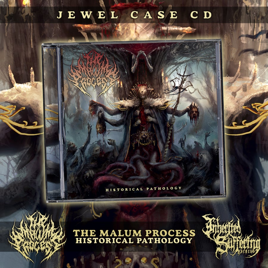 Image of The Malum Process - Historical Pathology - Jewel Case CD