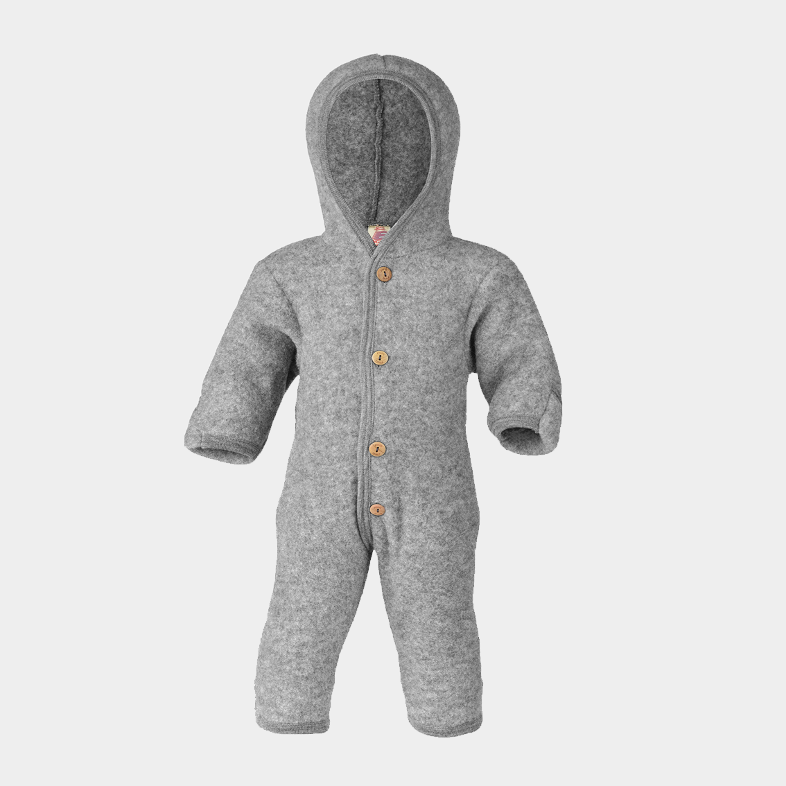 Image of Engel Hooded Overall Gray