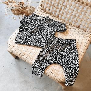 Image of Voilà Sweat Velour Leopard