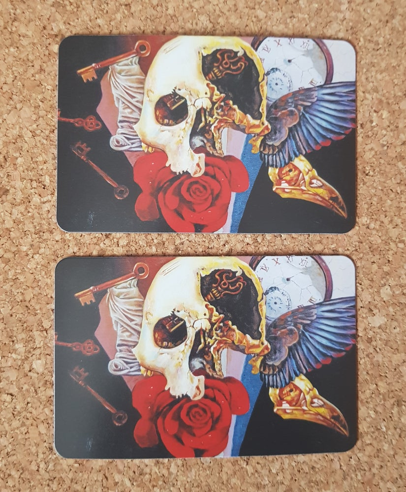 Image of Visions of Mortality I limited edition fridge magnet