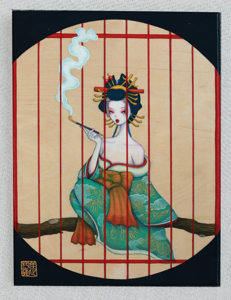 Image of Kago no Tori / Original Painting