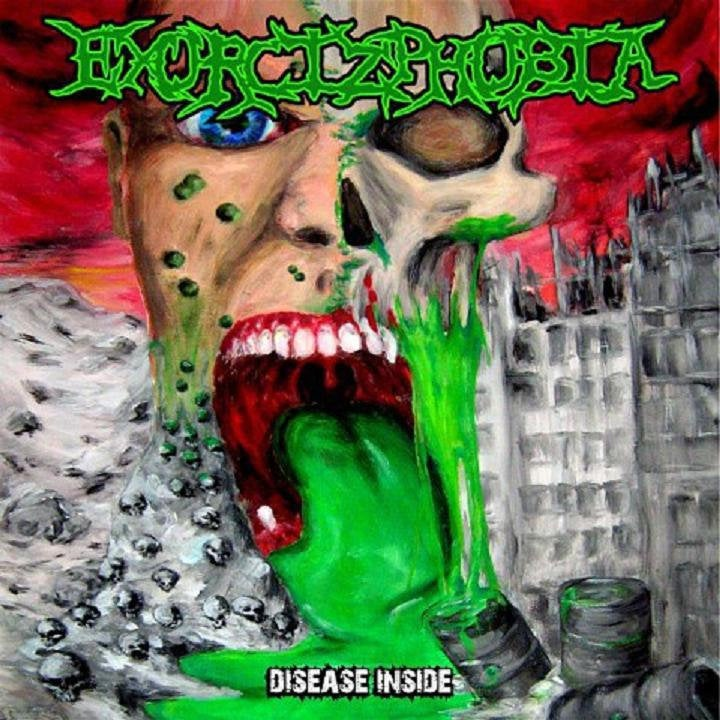 Image of Exorcizphobia - Disease Inside CD