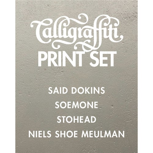 Image of Calligraffiti Print Set - Exclusive offer