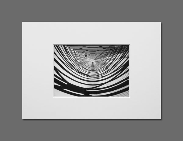 Image of THE FLUMES - 11x16CM FINE ART PRINT IN A4 PASSE-PARTOUT