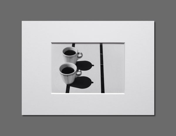 Image of COFFEE TITS - 11x16CM FINE ART PRINT IN A4 PASSE-PARTOUT