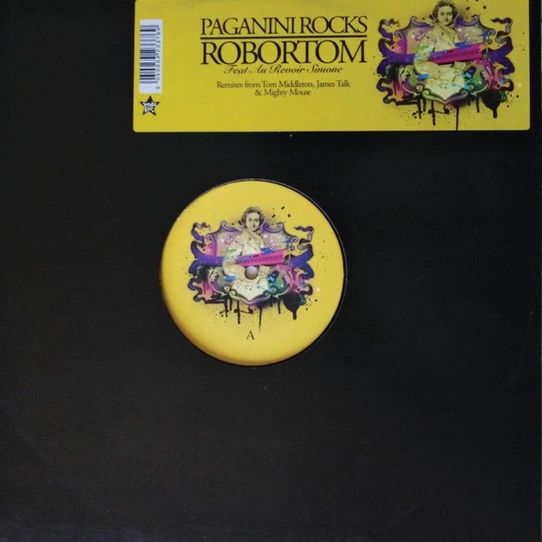 Image of Robortom Feat. Au Revoir Simone - Paganini Rocks
